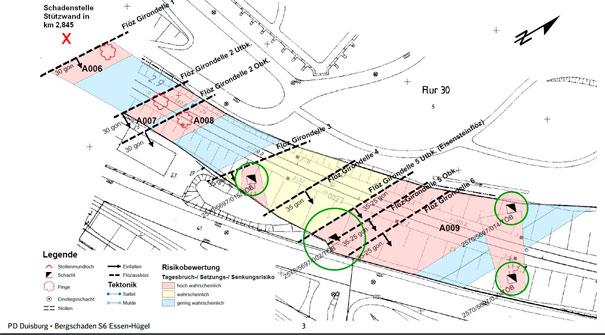 LOK Report NRW Bergschaden S6 Essen Hgel Streckensperrung