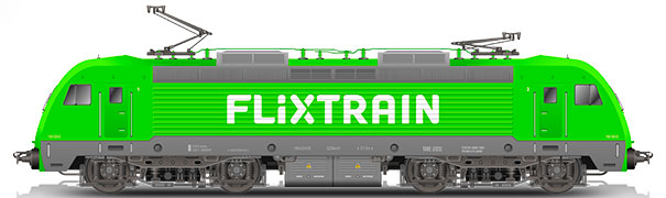 FlixTrain graphics image material free for editorial purposes