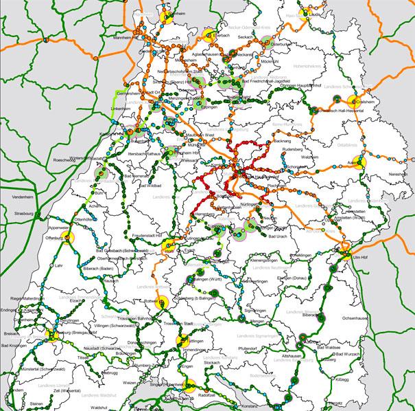 Baden Wurttemberg Karte Db.Lok Report Baden Wurttemberg Landesverkehrsministerium