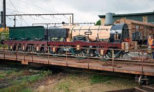 Lok Report Dänemark Nachbau Odin Im Eisenbahnmuseum Odense