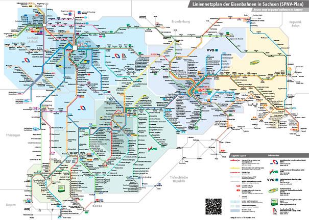 Lok Report Sachsen Eine Karte Fur Die Eisenbahnen In Ganz Sachsen