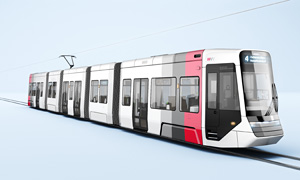 Voith New trams in Wuerzburg