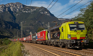 TXL Lok 'With the the licence to rail' © TX Logistik