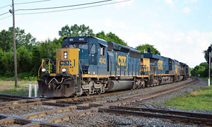 1 csx southbound (eastbound) on the former c&o marion, ohio june 21, 2017 d. leffler