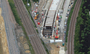 Photo credit, Network Rail Air Operations