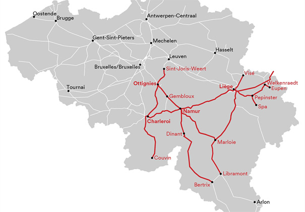 16.07.2021 - LOK Report - Belgien: Verkehr auch im Hennegau unterbrochen