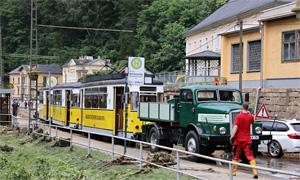 20.07.2021 - LOK Report - Sachsen: Kirnitzschtalbahn weiter gesperrt