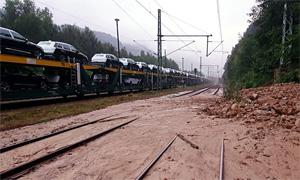 17.07.2021 - LOK Report - Sachsen: Regenfälle in der Lausitz und der sächs. Schweiz