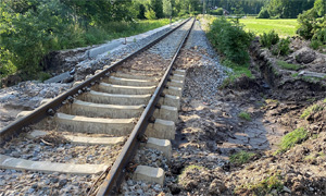 20.07.2021 - LOK Report - Bayern: Erste Straßen und Bahnstrecken bereits wieder offen